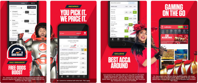 Bet on Grand National wit Ladbrokes mobile